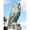 Owl Bronze Garden Sculpture
