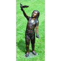 Taking Wing Solid Bronze Garden Sculpture