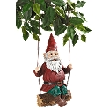 Sammy the Swinging Gnome Sculpture