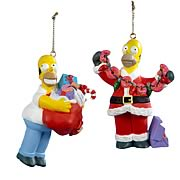 Simpsons Homer Simpson Blow Mold Ornaments Set