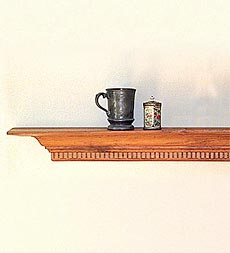 Maryland Plate Shelves -- Lifetime Guarantee