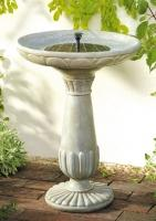 Portsmouth Solar Fountain / Birdbath