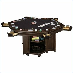 Howard Miller Niagara Hexagon Game Table