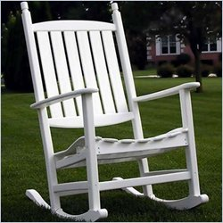 Poly-Wood Nautical Trade Winds Rocker