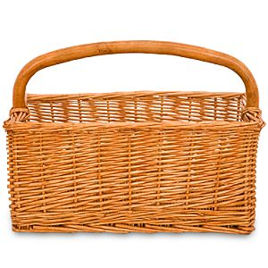 Create-Your-Own Wicker Caddy Basket