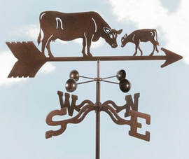 Cow  Calf Weathervane