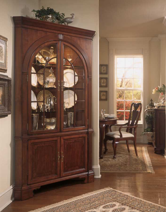 Cherry Grove Corner China Cabinet-American Drew